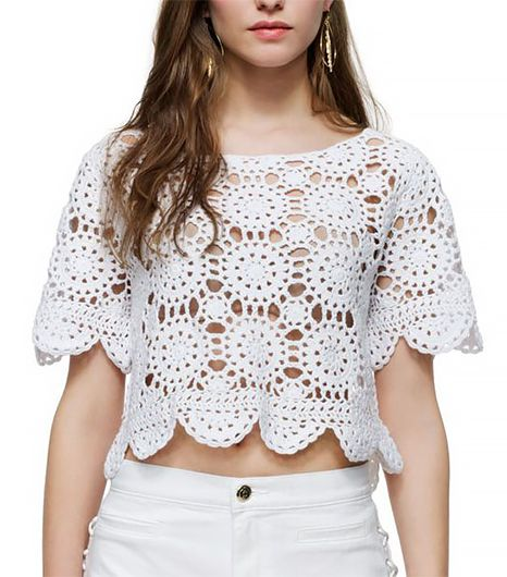 Juicy Couture Crochet Top