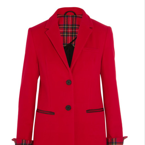 Karl Lagerfeld Mudhoney Wool-Blend Coat