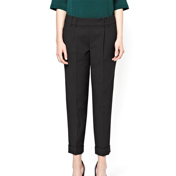 French Connection Classic Capri Cotton Trousers