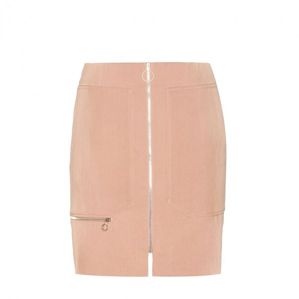 Stella McCartney Alfonse Cotton and Silk-Blend Skirt