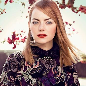 Emma Stone's Vogue Cover Spread