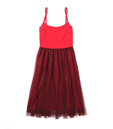 Free People Tea Length Knit Tutu Slip