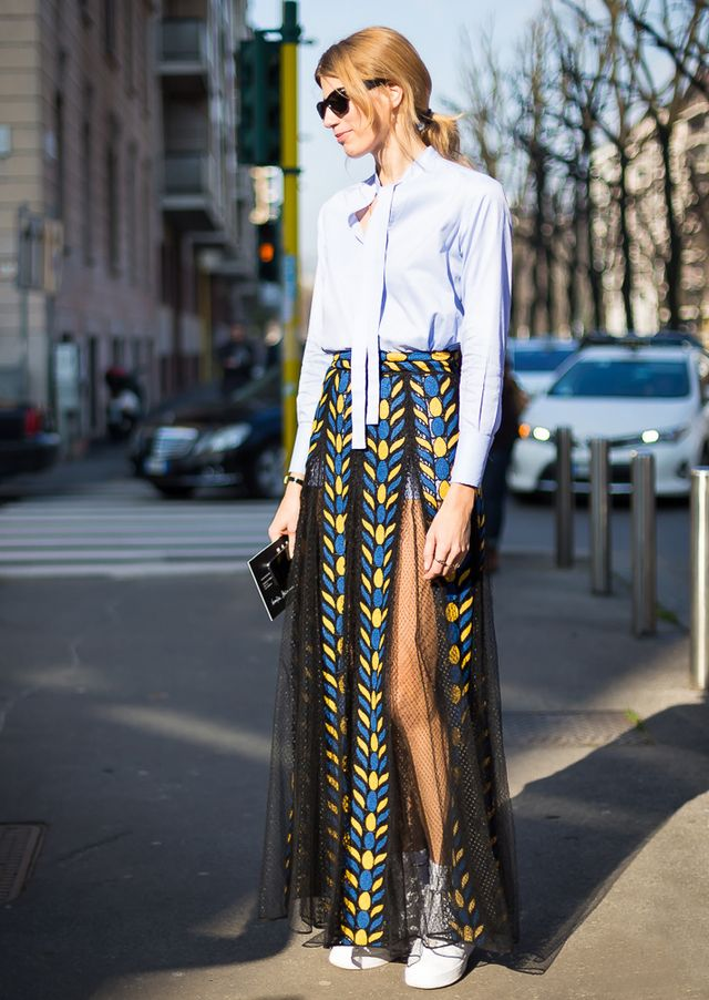 Tip of the Day: Sheer Skirt
