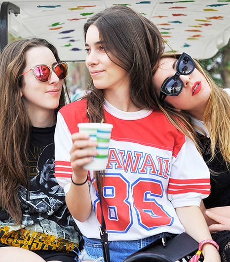 WWW Exclusive: Check Out Haim's Coachella Fashion Diary