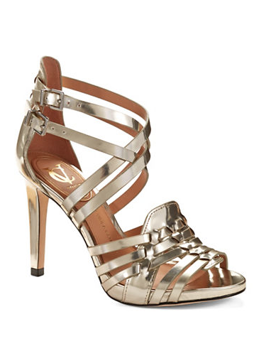 Vince Camuto Signature Barbara Metallic Sandals