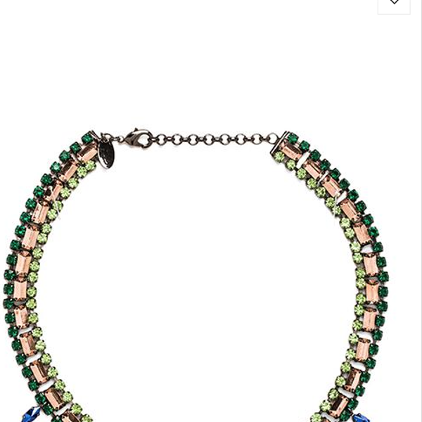 Iosselliani Triangle Collar Necklace