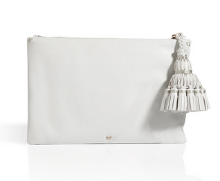 Anya Hindmarch Giorgiana Tassel Clutch