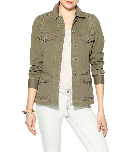 Marc by Marc Jacobs  Zeta Twill Jacket