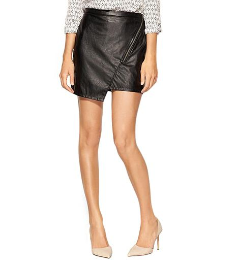Sanctuary Blogger Vegan Leather Skirt
