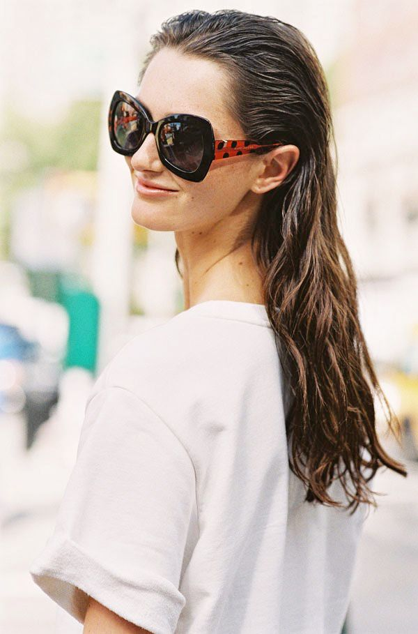 Get The Look: Prada Oversized Square Sunglasses ($245)