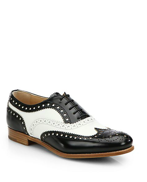 Church's Burwood Bicolor Leather Brogues
