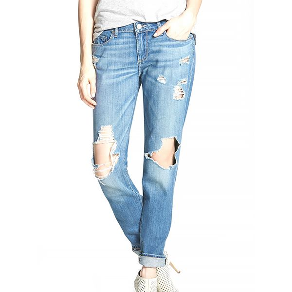 Paige Jimmy Jimmy Destroyed Boyfriend Jeans