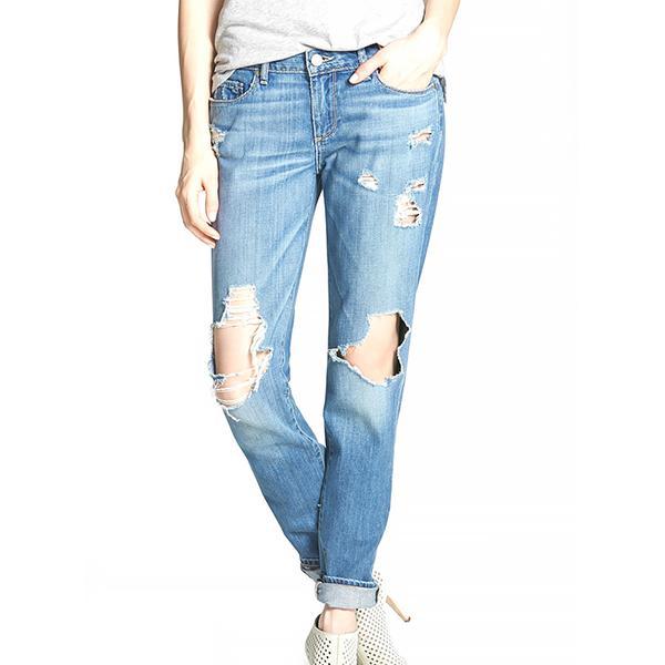 Paige Jimmy Jimmy Destroyed Boyfriend Jeans