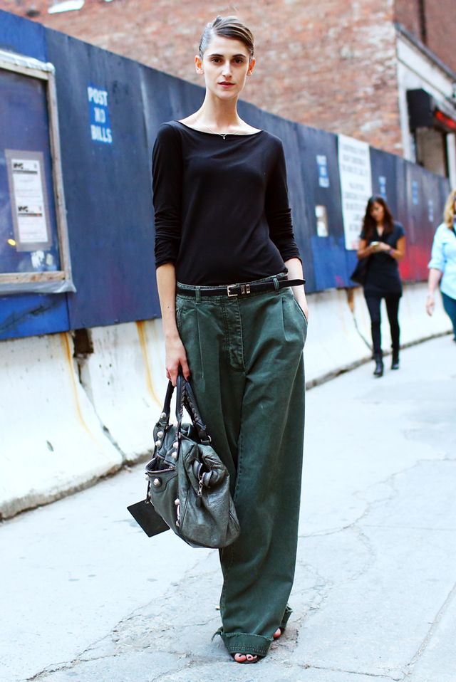 Tip of the Day: Oversized Pants