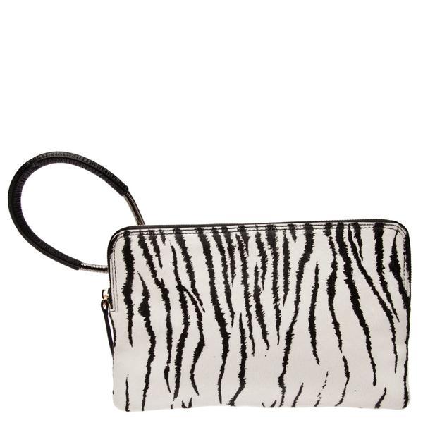 Lanvin Small Zebra Clutch