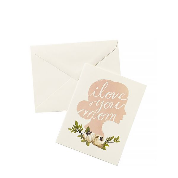 Anthropologie I Love You Mom Card