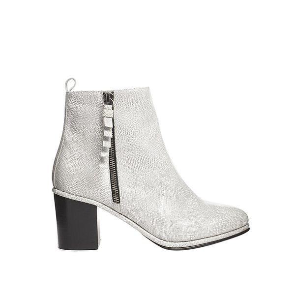 Opening Ceremony Shirley Zip Side Heeled Ankle Boots
