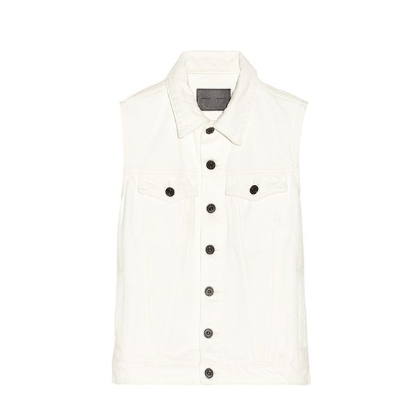 Proenza Schouler PS Denim Vest