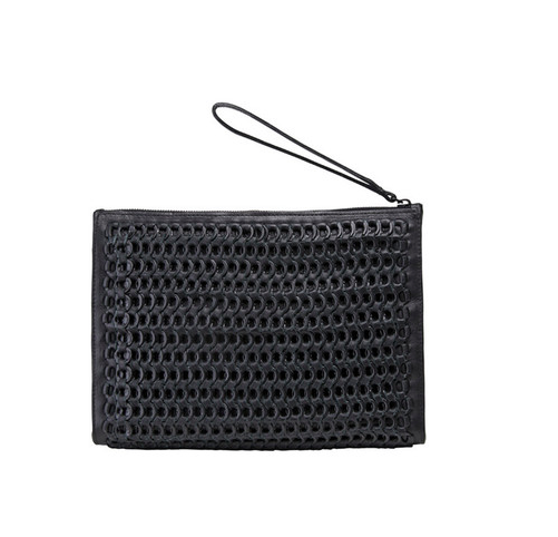 Bottletop by Narciso Rodriguez Jessica Hand-Braided Clutch