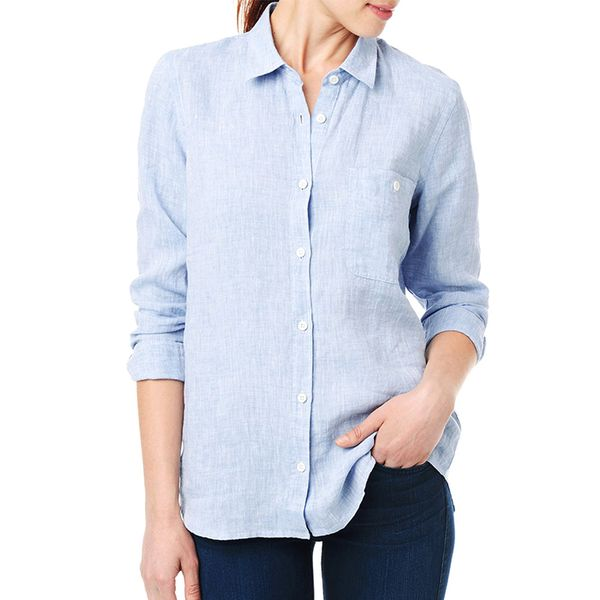 7 For All Mankind Slim Button Up Shirt