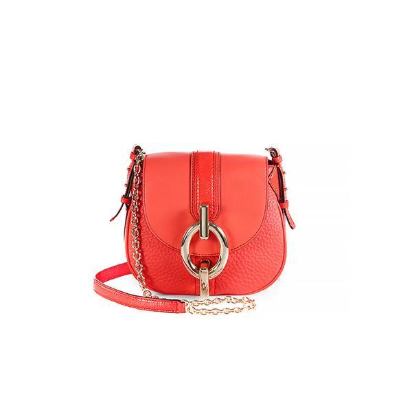 Diane Von Furstenberg Sutra Mini Leather Crossbody Bag
