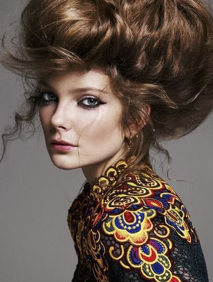 Eniko Mihalik Goes Boho-Glam for Vogue Netherlands