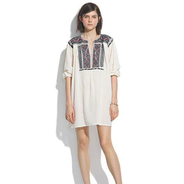 JM Drygoods Embroidered San Vicente Blouse
