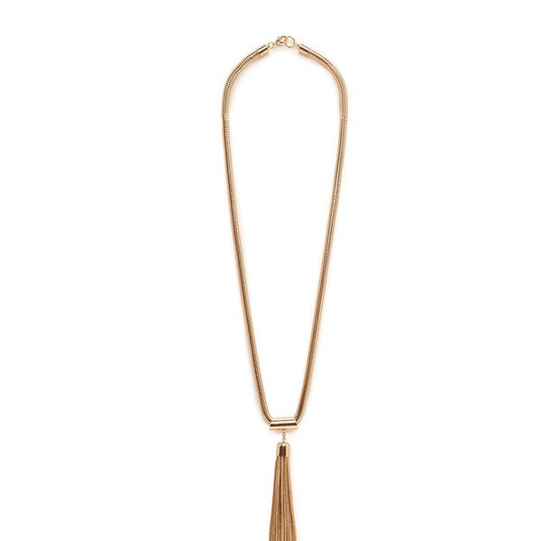 Mango Tassel Pedant Necklace