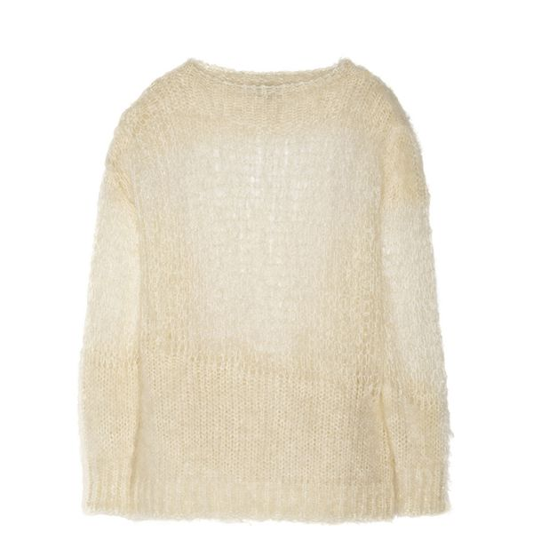 Acne Studios Ocean H Open-Knit Mohair-Blend Sweater