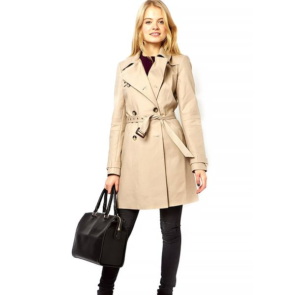 ASOS Premium Trench With Panel Detail