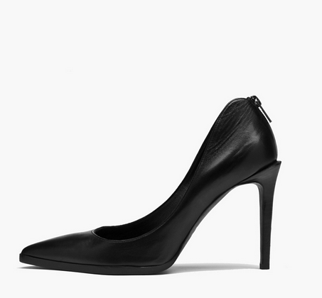 Helmut Lang Leather Stiletto Pumps