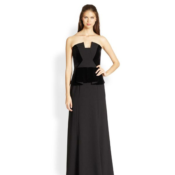 Black Halo Drea Gown