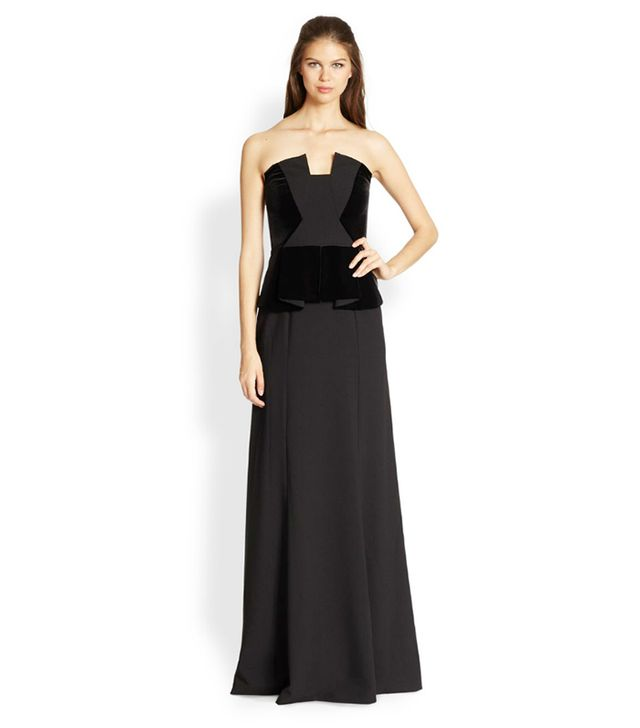 Black Halo Drea Gown ($800)