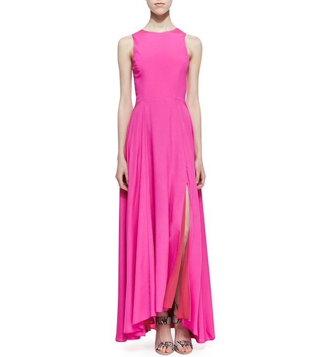 Naven Sleeveless Siren Maxi Dress ($198) in Pop Pink