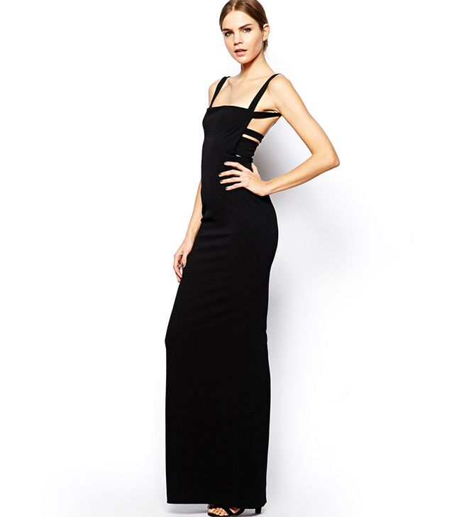 Solace London Crockett Maxi Dress with Low Back ($245)
