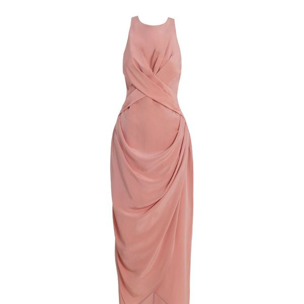 Zimmermann Silk Drape Long Dress
