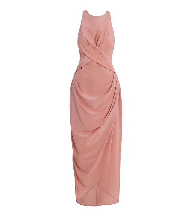 Zimmermann Silk Drape Long Dress ($520)