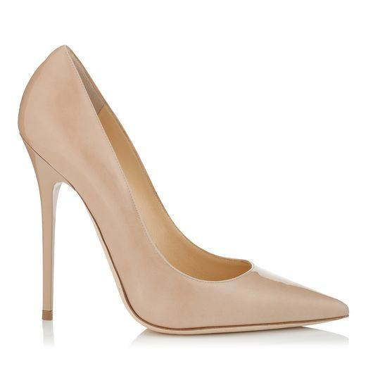 Jimmy Choo Anouk Patent Leather Pointy Toe Pumps
