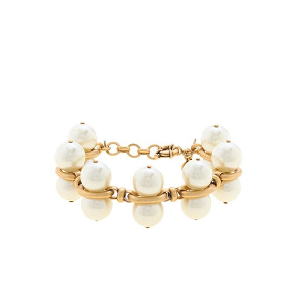 J.Crew Pearl Pairs Bracelet