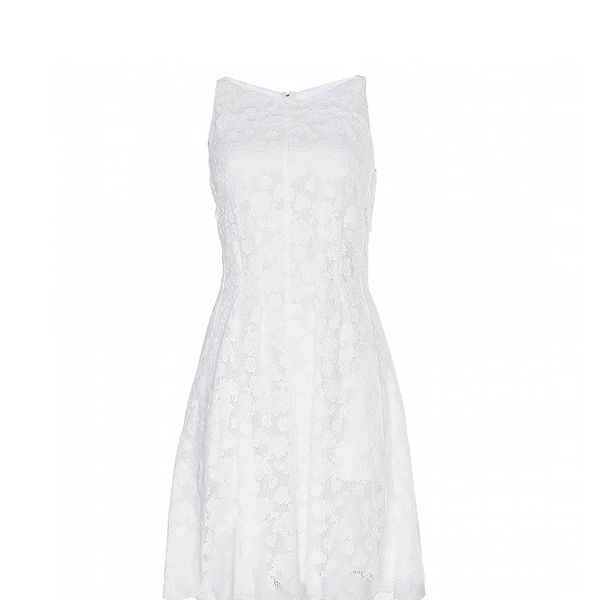 Nina Ricci Cotton Lace Dress