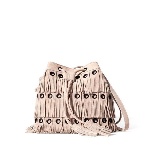 Zara Suede Dolly Bag