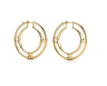 Tiffany & Co. Atlas® Collection Hoop Earrings