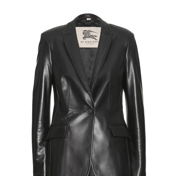 Burberry London Leather Blazer