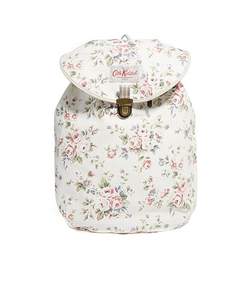 Cath Kidston Cotton Backpack ($75)  ?Doesn't this backpack make you want to run off into the woods? Us too.