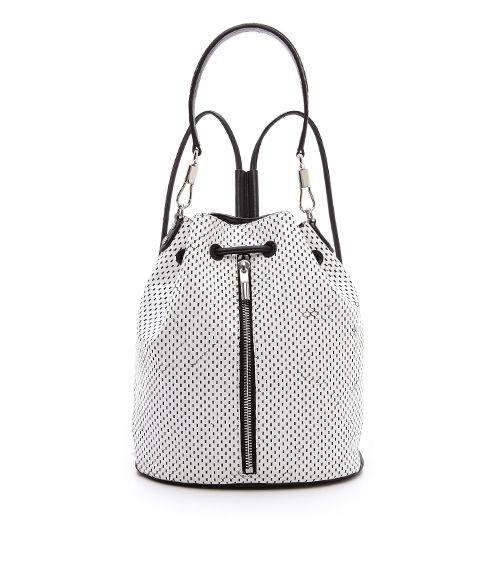 Elizabeth and James Perforated Cynnie Sling Bag ($595)