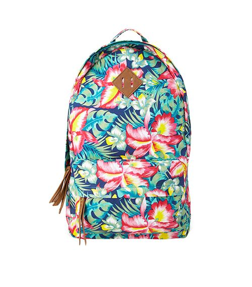 Forever 21 Island Girl Canvas Backpack