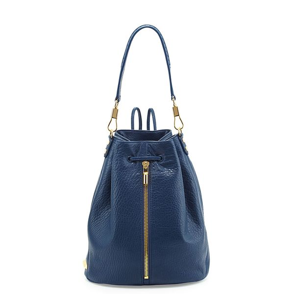 Elizabeth and James Cynnie Leather Drawstring Backpack