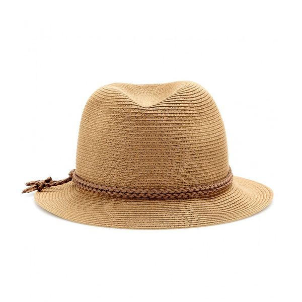 Hat Attack Fedora With Suede Trim