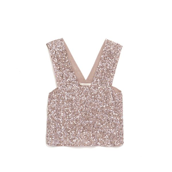Zara Top With Sequins