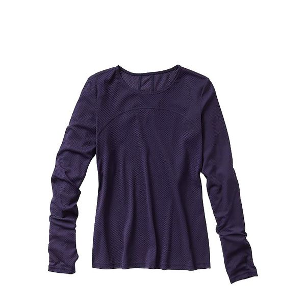 GapFit Mesh Long-Sleeve Top